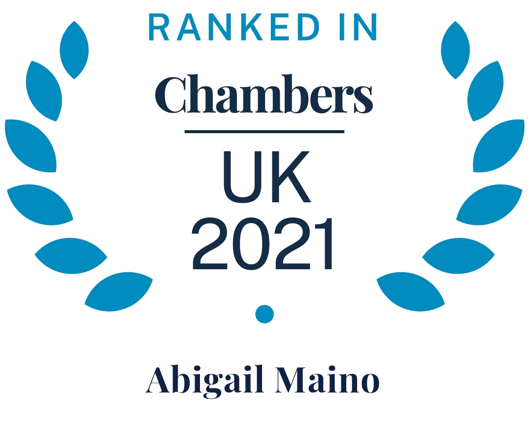 Chambers and Partners 2021 (Ranked In - Abigail Maino)