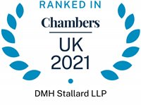 Chambers and Partners 2021 (Ranked In - DMH Stallard LLP)