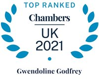 Chambers and Partners 2021 (Top Ranked - Gwen Godfrey)