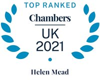 Chambers and Partners 2021 (Top Ranked - Helen Mead)