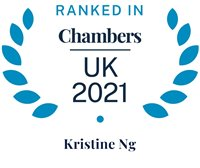 Chambers and Partners 2021 (Ranked In - Kristine Ng)