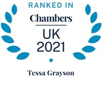 Chambers and Partners 2021 (Ranked In - Tessa Grayson)
