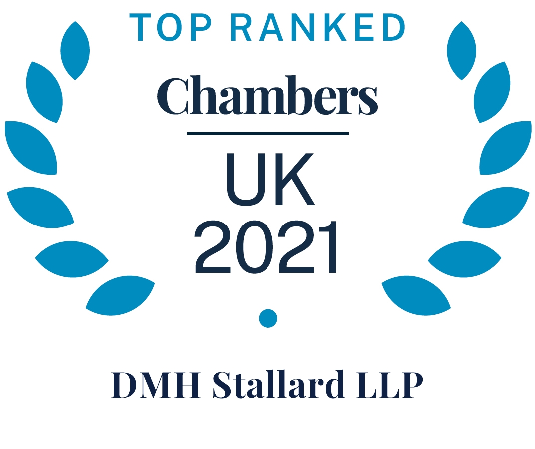 Chambers and Partners 2021 (Top Ranked - DMH Stallard LLP)