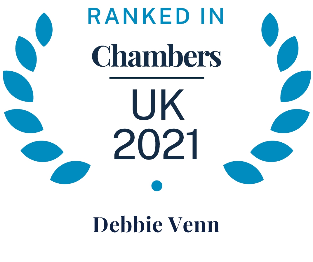 Chambers and Partners 2021 (Ranked In - Debbie Venn)
