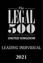 Legal 500 2021 (UK Leading Individual)