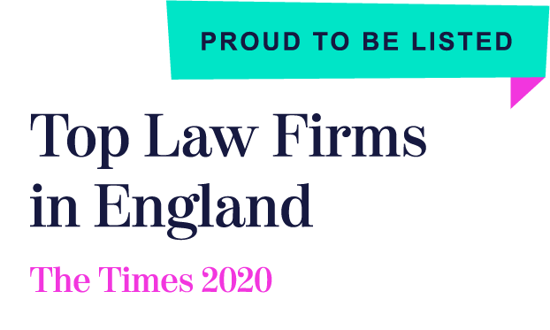 Top law firms in England